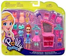Polly Pocket Lila Doll Pack Fashions Accessories Clothes Fiercely Fab Studio New