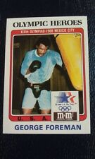 George Foreman #14 USA Boxing Gold Medal 1983 M&M Olympics Olympic Heroes