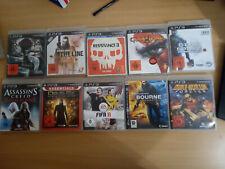 PS3 Spielepaket/Spielesammlung 10 games