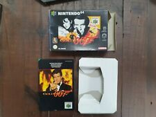 Nintendo N64 Goldeneye 007 Box and Instructions Only NO GAME