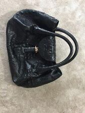 Fendi Spy Crocodile Print Leather Bag