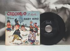 "SPERO E I CRAZY ROCK BOYS - GREGORIO IL BARBA / BABY BIRD 7"" 45 ITALY BEAT 1963"