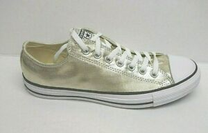 Converse Size 12 Gold Sneakers New Mens Shoes