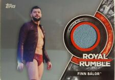 WWE 2018 Then Now Forever ROYAL RUMBLE  MAT Relic Card FINN BALOR 24/25