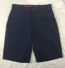 Under Armour Men's Golf Loose Shorts Heat Gear Navy Blue 1272862 Size 34
