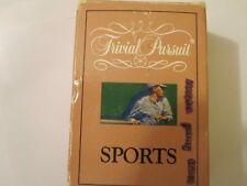"Vintage Trivial Pursuit Card-Set for ""Sports"" 1989, Ages Teen-Adult Parker Bro."
