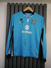 Mk Dons Super Rare 2015/16 gk Martin no 1 football shirt top size XS Signed