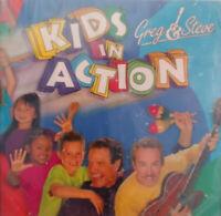 KIDS IN ACTION -  GREG & STEVE - BRAND NEW CD MUSIC