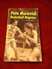 "OLD VTG 1973 SPORTS BOOK ""PETE MARAVICH, BASKETBALL MAGICIAN"" BY LOU SABIN"