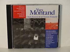 CD ALBUM Chefs d oeuvre de la chanson francaise YVES MONTAND CF 017  NEUF