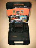 """Turbo Grafx 16 System & CD Player + Case & Docking Station"" Bundle With 3 Games"
