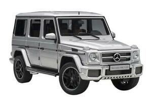 Mercedes Benz G63 AMG Silver 1:18 Scale AutoArt Model Car 76323