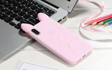 3D cartoon Fashion koko Cat cute Ear Cat Case For iphone X 6 7 8 Plus Back Cover