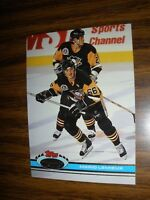 1991-92 Topps Stadium Club #174   Mario Lemieux Pittsburgh Penguins NrMt