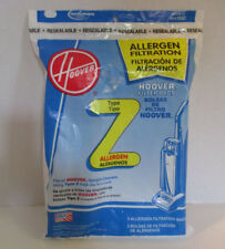 3 Z Hoover Vacuum Bags Allergen Filtration Bags Upright Cleaners Power Drive