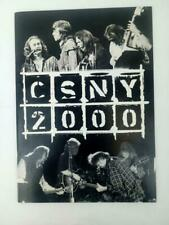 Crosby Stills Nash Young CSNY 2000 Concert Collectible Photo Book
