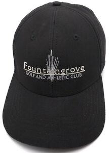 FOUNTAINGROVE GOLF AND ATHLETIC CLUB black adjustable cap / hat - Callaway