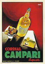 """TARGA VINTAGE """"1932 CORDIAL CAMPARI"""" PUBBLICITA', ADVERTISING, POSTER, APERITIVO"""