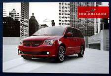 Prospekt brochure 2013 Dodge Grand Caravan (USA)