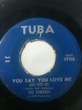 """Northern Soul 45/ Dee Edwards """"You Say You Love Me""""  Hear"""