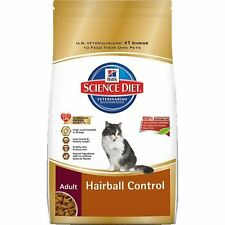 Hill`s Science Diet Adult Hairball Control Dry Cat Food, 7-Pound Bag , New, Free