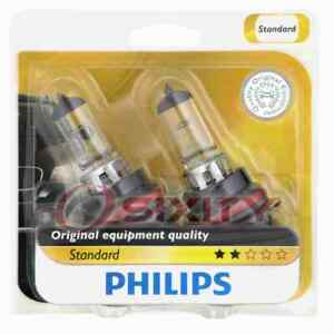 Philips High Low Beam Headlight Bulb for Ford Bronco Bronco II Escort EXP mn