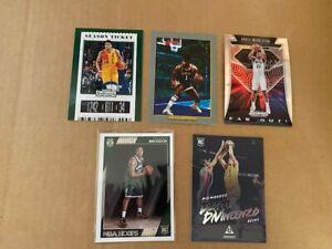 50 different Milwaukee Bucks cards + Bonus cards