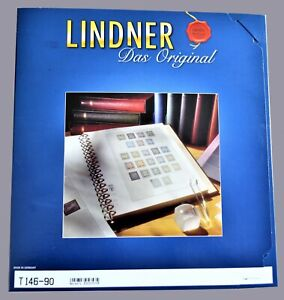 Lindner Stamp Album, Great Britain Illustrated in Colour,1990/91 -10 pages