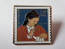Recognizing Deafness Sign Language Stamps - Scott 2783  Stamp Pinback pin NEW