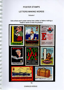 (I.B-CK) Cinderella Catalogue : Poster Stamps : Letters Making Words (volume 1)