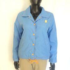 Roxy QuikSilver Womens Jacket Size Medium Ocean Blue Button Up Beach Coat M Top
