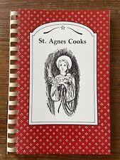 Vintage 1994 St. Agnes Cooks Spiral Bound Cookbook Recipes Baton Rouge Louisiana