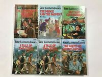 A Lot Of 6 Books Of Great Illustrated Classics
