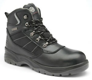 Zephyr Premium Waterproof Leather Safety Boots