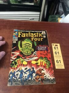 FANTASTIC FOUR #49 • 1ST GALACTUS, 1ST SILVER SURFER COVER If This Be Doomsday