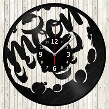 Moon Vinyl Record Wall Clock Decor Handmade 1739