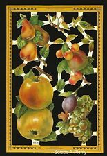 Die Cut Scrap Mamelok English Embossed - Fruit Yummy  (Archives Collection) A143