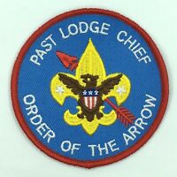Boy Scout OA Order of the Arrow Past Lodge Chief Unofficial Position Patch