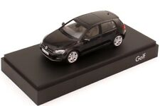 VW GOLF 7 VII GT TSI TDI HIGHLINE 5 DOOR DEEP BLACK 1:43 HERPA (DEALER MODEL)
