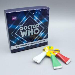 Doctor Who 4th Doctor's Paint Pin
