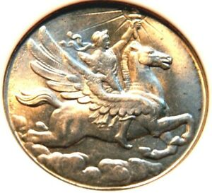 1926 PA HK-454 TOP 6 GRADED NGC MS64 US SESQUICENTENNIAL OFFICIAL MEDAL PEGASUS