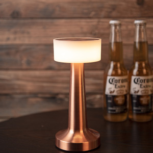 Luxury decorative LED lighting bar Table Lamp Rechargeable for Hotel restaurant