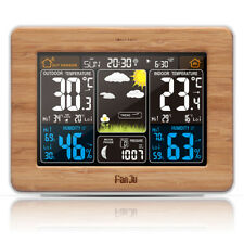 FanJu FJ3365 Weather Station Forecast Temperature Humidity Barometer Alarm Clock