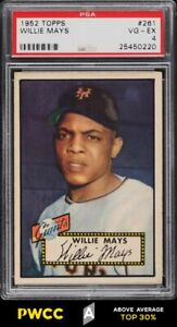 1952 Topps Willie Mays #261 PSA 4 VGEX (PWCC-A)