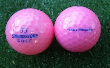 15 rose Bridgestone Lady precept Balles de Golf *** AAAA-AAA *** top!
