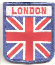 LONDON UNION JACK FLAG WORLD EMBROIDERED PATCH BADGE WITH FREE UK POSTAGE