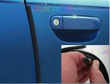 VAUXHALL Vivaro VAN BLACK Car Door Guard Protector U Shaped Edge Cover 2M