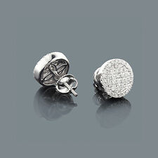 Ohrstecker Diamanten 585er Weißgold 0,77 ct. Wesselton SI Neu Goldschmuck