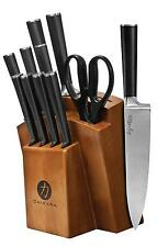 Ginsu Chikara Series Fully Forged 12 Piece Japanese Steel Knife Set –...