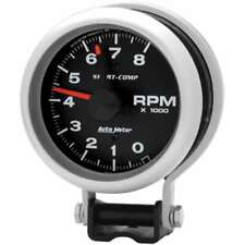 "TYPE 25 Tachometer, 3 3/8"", 8000rpm, with mounting bracket - AUTOMETER3780"